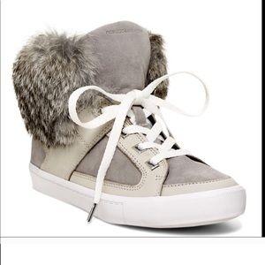 Rebecca Minkoff Rabbit Fur Sneaker 8
